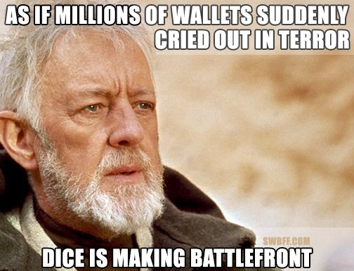 Dice and EA Battlefront Announcement