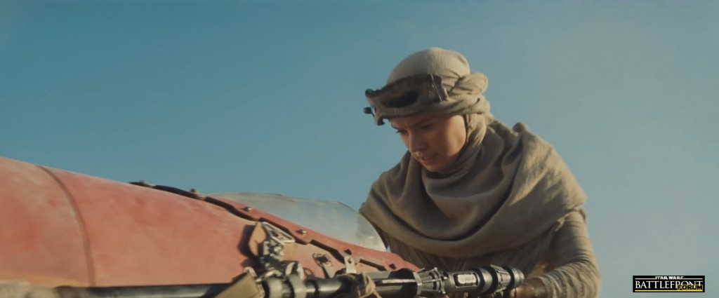 The Force Awakens Trailer - Rebel Scout