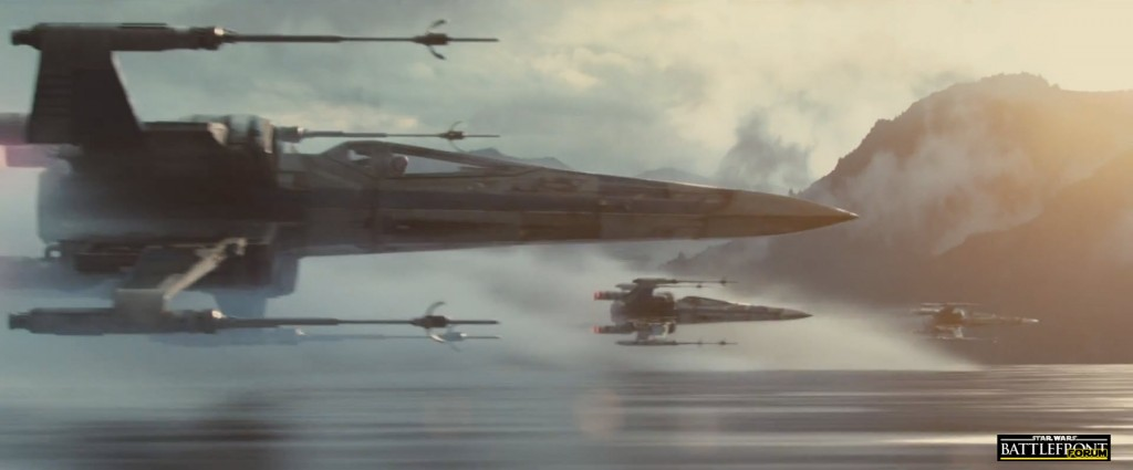 The Force Awakens Trailer - X Wing Fighter