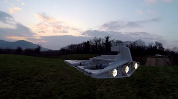 "<span class=""entry-title-primary"">Star Wars Drone Takes To The Skies To Conquer</span> <span class=""entry-subtitle"">After some careful modding, this fan was able to create an Imperial Star Destroyer from his remote controlled drone</span>"