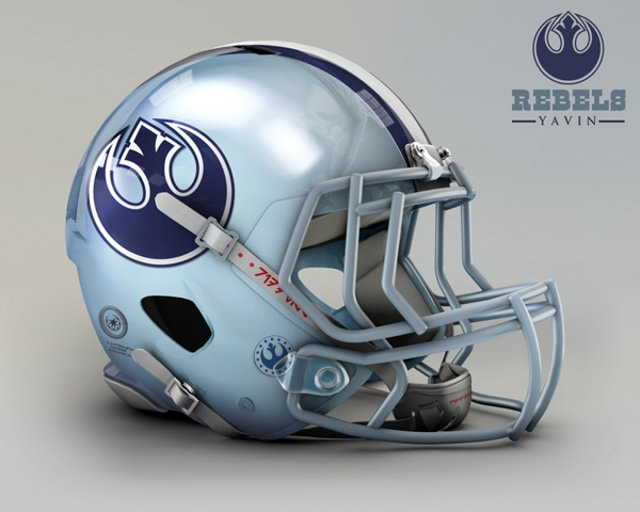 NFL Star Wars Football Helmet - Cowboys