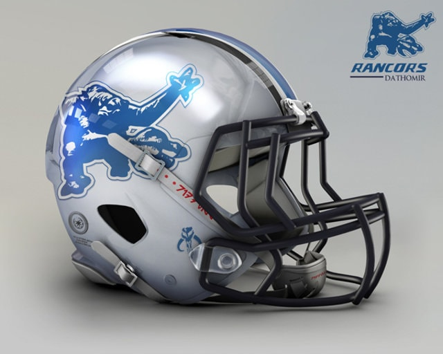NFL Star Wars Football Helmet - Lions