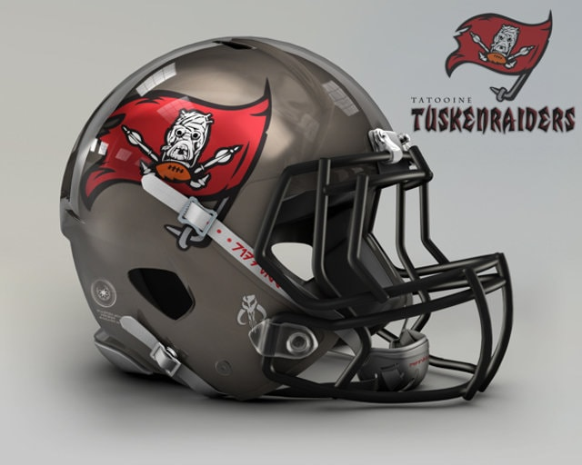 NFL Star Wars Football Helmet - Buccaneers