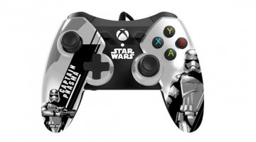 "<span class=""entry-title-primary"">GameStop Releases The Force Awakens Xbox Controllers</span> <span class=""entry-subtitle"">There will be 5 new Star Wars Xbox One game controllers that focus around The Force Awakens</span>"