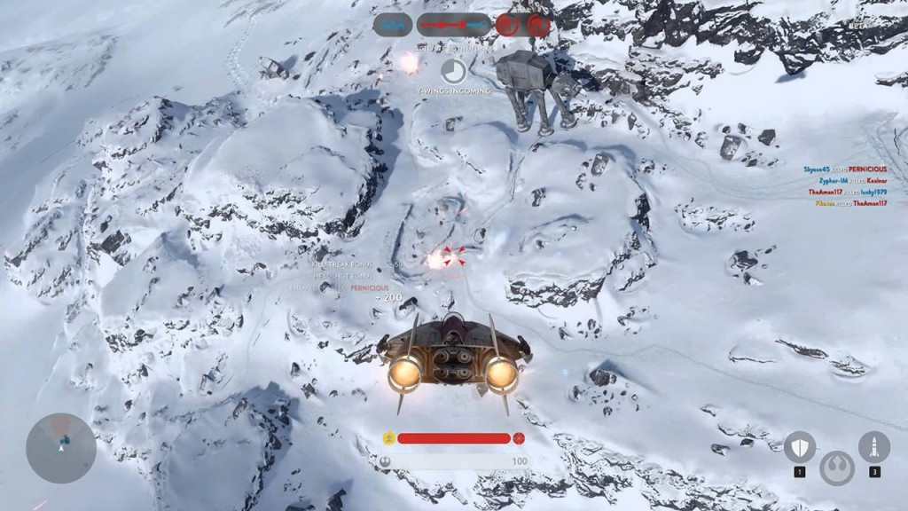 A-Wing Gameplay