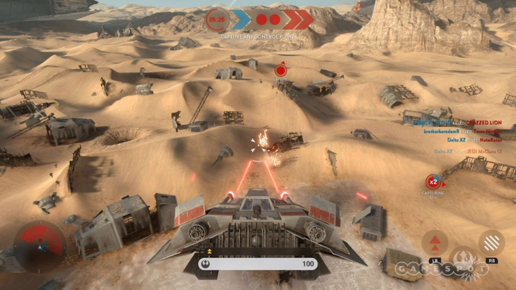 Turning Point Airspeeder in Multiplayer