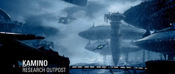 Kamino Research Outpost in Battlefront